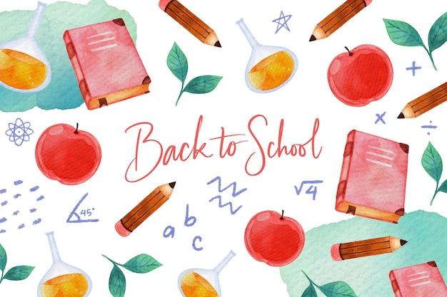 Tapeta z powrotem do szkoły