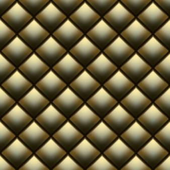 Tapicerka dekoracyjna miękki połysk bez szwu pikowany wzór. prawdziwy luksusowy szablon ze złotą nicią. a także zawiera