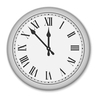 Tarcza zegara z cyframi rzymskimi