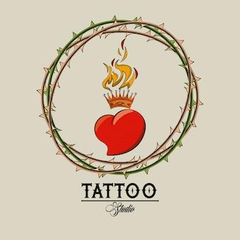 Tatuaż starej szkoły