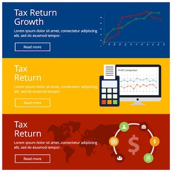Tax return banner