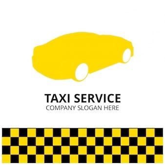 Taxi icon taxi service 24 godziny serrvice taxi samochodem białe tło