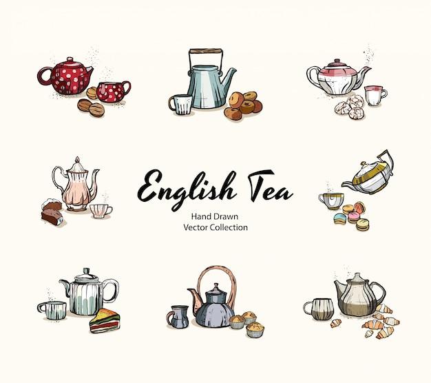 Tea party ilustracja