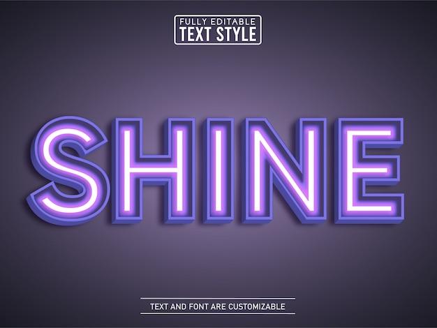 Teatr świecące efekt tekstowy neon