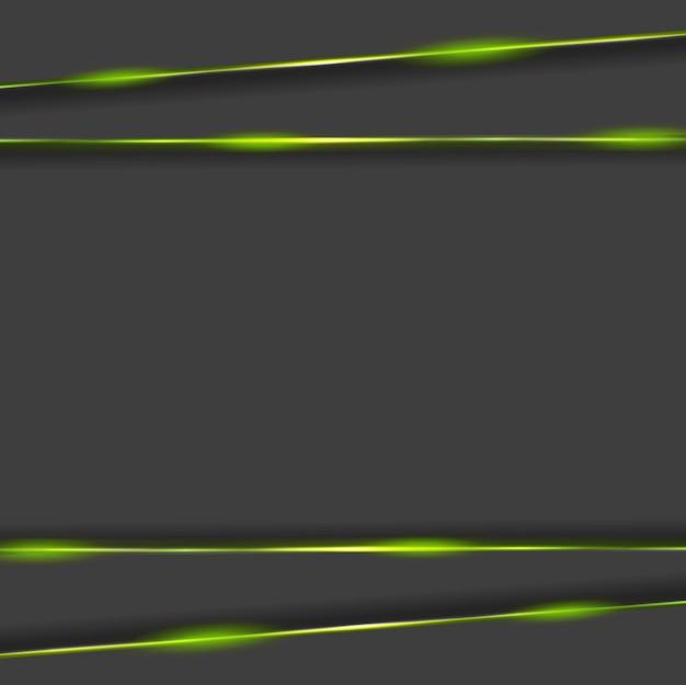 Tech ciemne tło ze świecącym światłem. projekt wektorowy