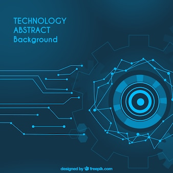 Technologia abstrakcyjna tła