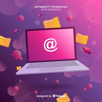 Technologia antygrawitacyjna z elementami