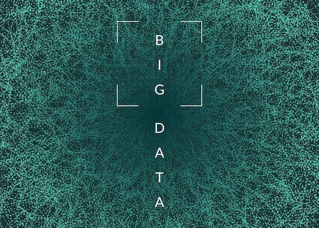 Technologia cyfrowa abstrakcyjne tło digital
