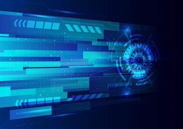 Technologia cyfrowa obwodu abstrakta tło
