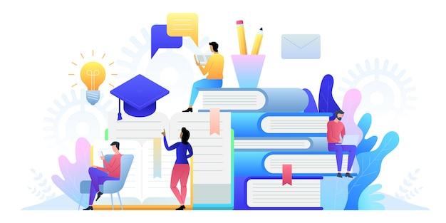Technologia edukacji online. e-książki, kursy internetowe i proces ukończenia szkoły.