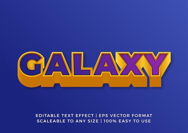 Technologia golden space pogrubiony efekt tekstowy