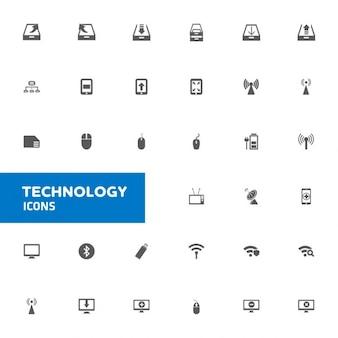 Technologia ikony ustaw