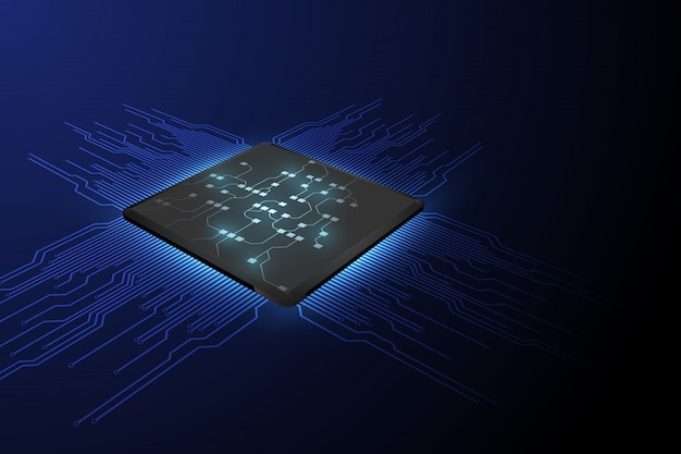 Technologia procesora chipowego