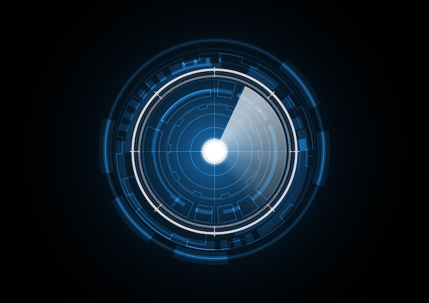 Technologia przyszłości koło streszczenie tło