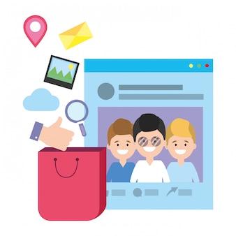 Technologia sieci społecznościowych