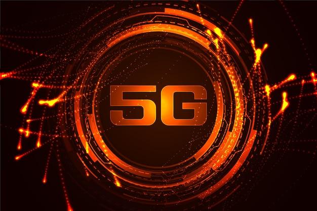 Technologia szybkiego internetu koncepcja tło