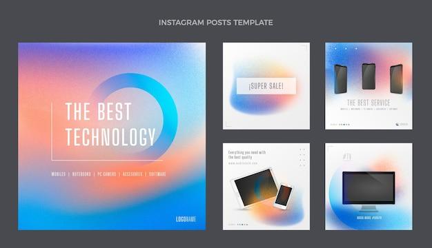 Technologia tekstur gradientowych ig post