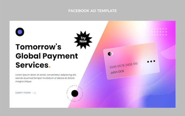Technologia tekstur gradientowych na facebooku