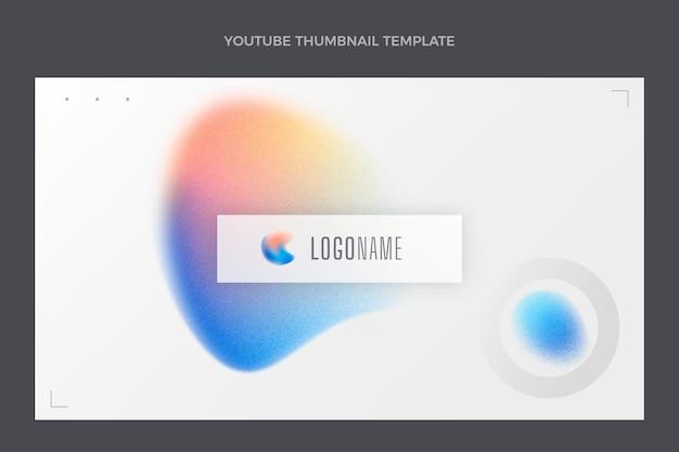 Technologia tekstury gradientu miniatura youtube