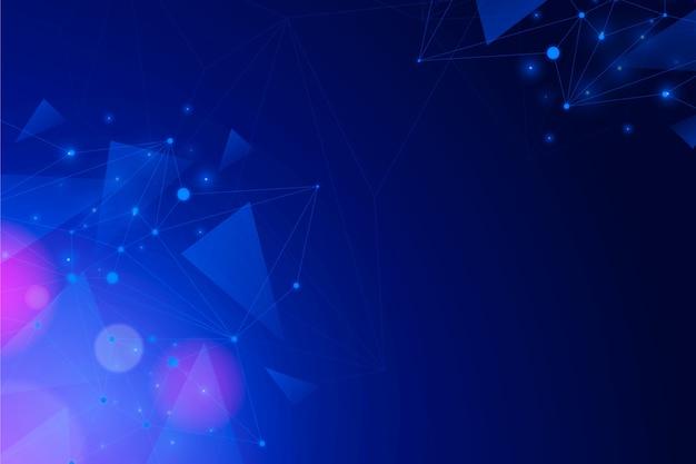 Technologia tło geometryczny wzór