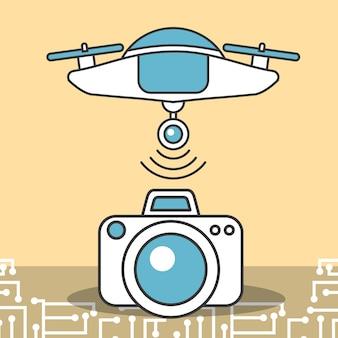 Technologia transferu danych z kamer dronowych