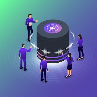Technologia voice concept