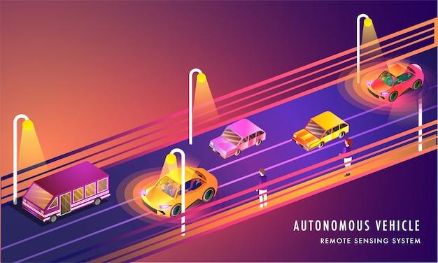 Technologia zdalnego wykrywania, pojazdy autonomiczne.