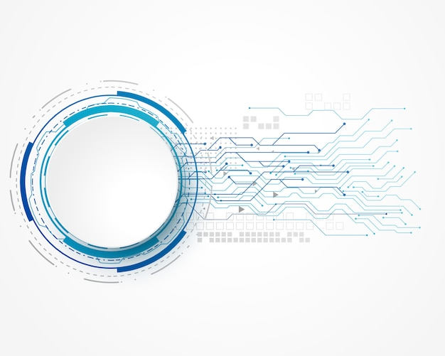 Technologii pojęcia tło z drucianą siatką i tekst przestrzenią