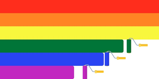 Tęcza, flaga tolerancji, lgbt, tło transpłciowe parady