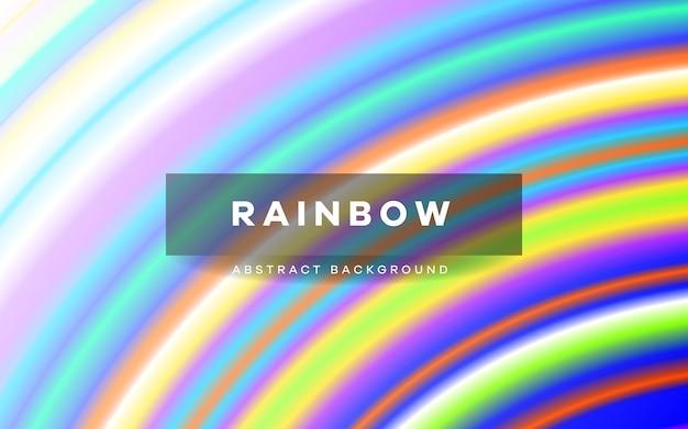 Tęcza pasek kolorowy wzór tła