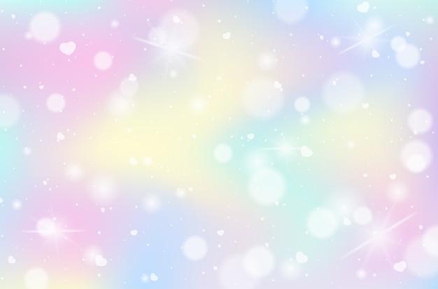 Tęcza pastelowe niewyraźne tło