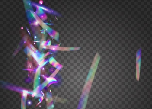 Tęcza tekstury. tło holograficzne konfetti.