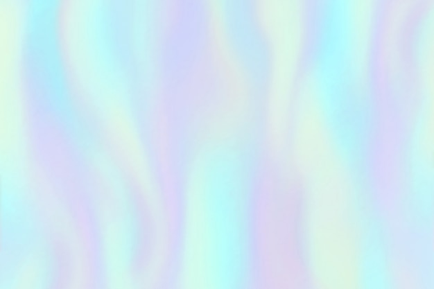 Tęczowa tekstura folii. opalizujący hologram, piękne holograficzne kolorowe modne moda tło