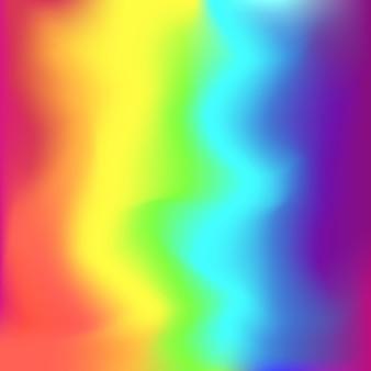 Tęczowe kwadratowe kolory gradientu tła