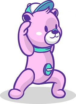 Teddy yoga 3