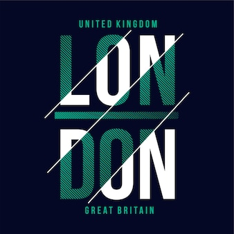 Tekst typografii londynu