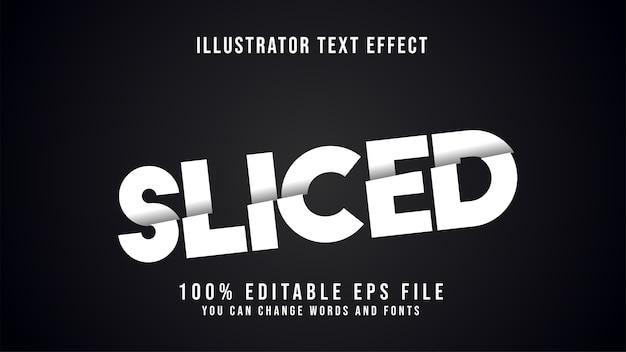 Tekst w plasterkach do edycji