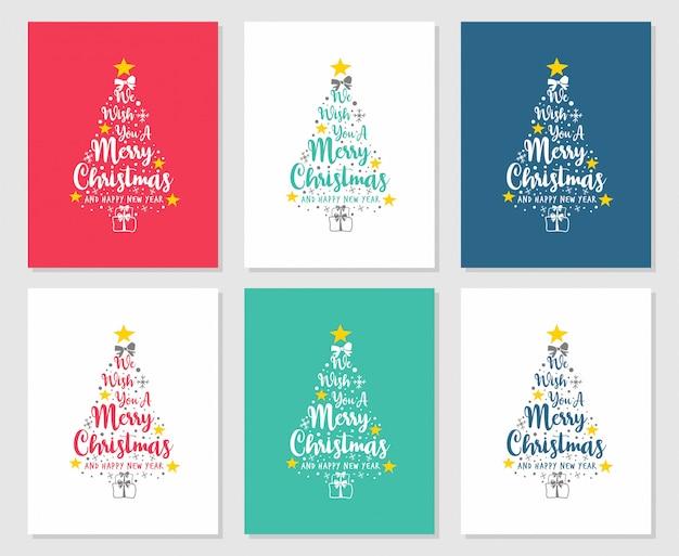 Tekst życzymy wesołych świąt i szczęśliwego nowego roku sosny