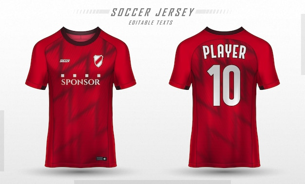 Tekstura dla piłkarskiej koszulki piłkarskiej