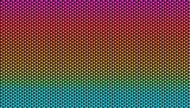 Tekstura ekranu led. cyfrowy projekt pikseli. monitor lcd z kropkami.