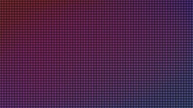 Tekstura ekranu led. cyfrowy wyświetlacz z kropkami. monitor lcd z pikselami. ilustracja wektorowa.