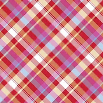 Tekstura tkanina kratka czerwony piksel