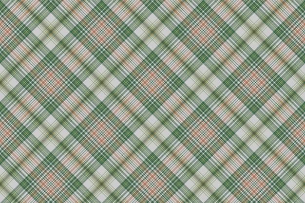 Tekstura tkanina kratka zielony złoty czek kratę bez szwu
