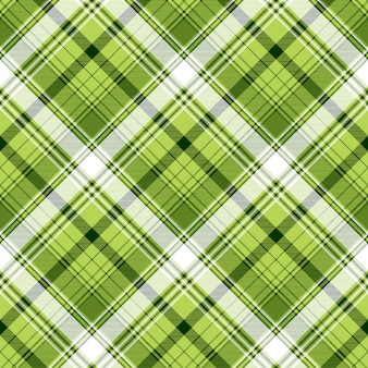 Tekstura tkanina zielony irlandzki kratę