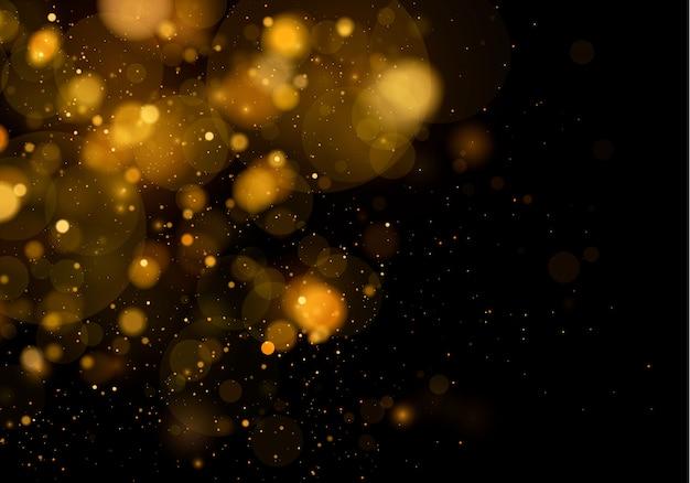 Tekstura tło streszczenie czarno-białe lub srebrne, złoto brokat i eleganckie. biały kurz. lśniące magiczne cząsteczki. magiczna koncepcja. streszczenie tło z efektem bokeh.
