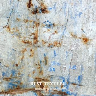 Tekstura zardzewiałą ścianie