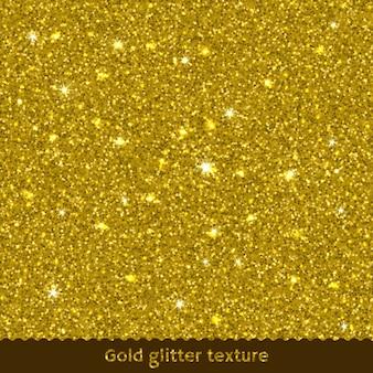 Tekstura złoty brokat