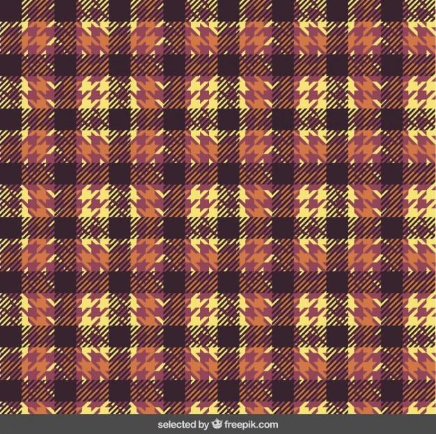 Tekstylia houndstooth wzór