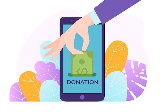 Telefon komórkowy darowizny