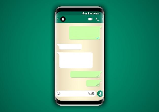 Telefon szablonu rozmowy